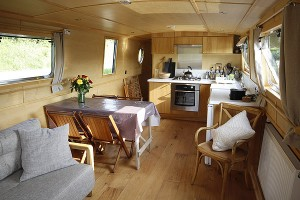 Superb attention to detail, wide spacious boat (unlike a narrowboat) and first class skipper tuition!